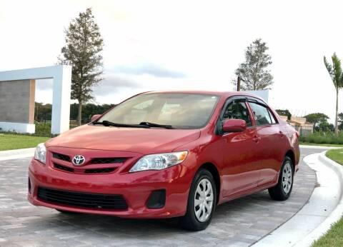 2013 Toyota Corolla for sale at Sunshine Auto Sales in Oakland Park FL