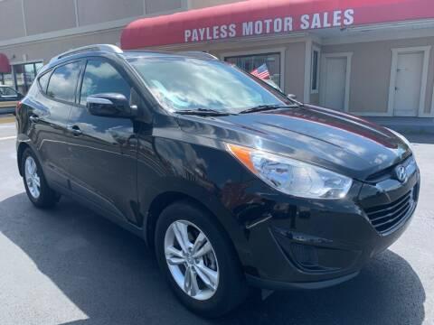 2012 Hyundai Tucson for sale at Payless Motor Sales LLC in Burlington NC