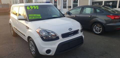 2013 Kia Soul for sale at TC Auto Repair and Sales Inc in Abington MA