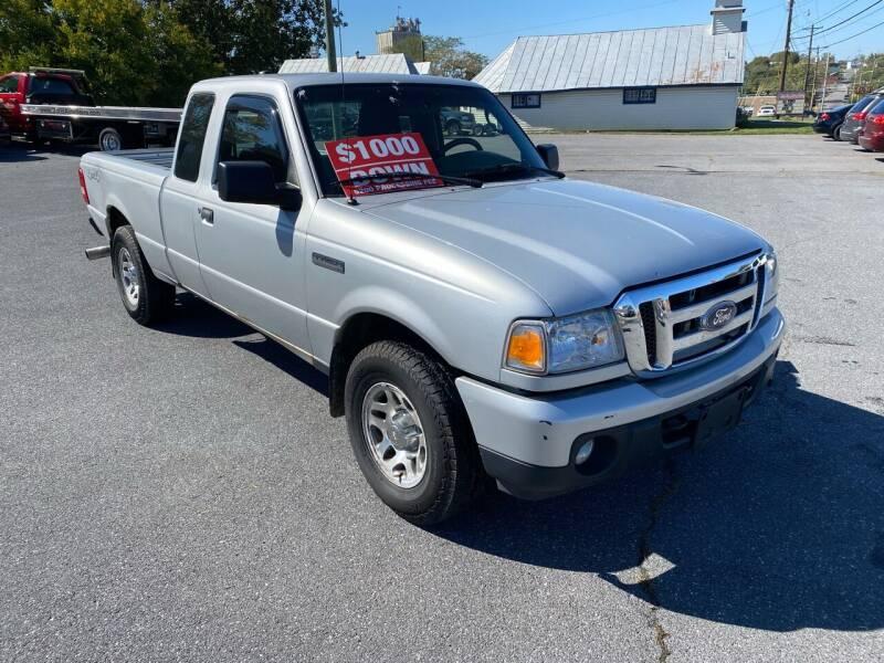 2011 Ford Ranger for sale at Boris Auto Sales & Repairs in Harrisonburg VA