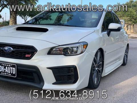 2020 Subaru WRX for sale at ADK AUTO SALES LLC in Austin TX