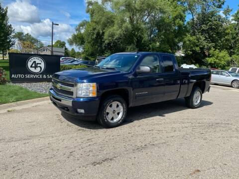 2009 Chevrolet Silverado 1500 for sale at Station 45 Auto Sales Inc in Allendale MI