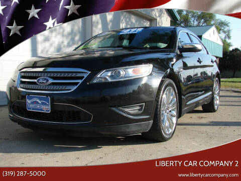 2010 Ford Taurus for sale at Liberty Car Company - II in Waterloo IA