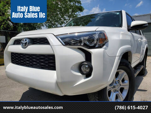 2019 Toyota 4Runner for sale at Italy Blue Auto Sales llc in Miami FL
