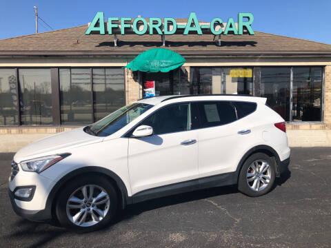 2014 Hyundai Santa Fe Sport for sale at Afford-A-Car in Moraine OH