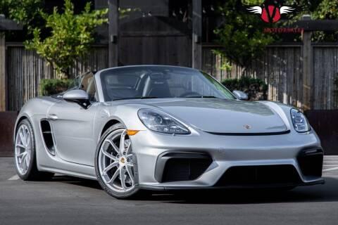 2020 Porsche 718 Boxster for sale at Veloce Motorsales in San Diego CA
