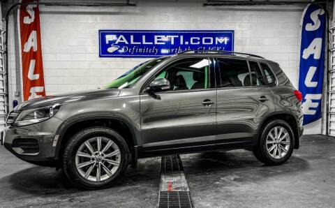 2015 Volkswagen Tiguan for sale at Falleti Motors, Inc.  est. 1976 in Batavia NY