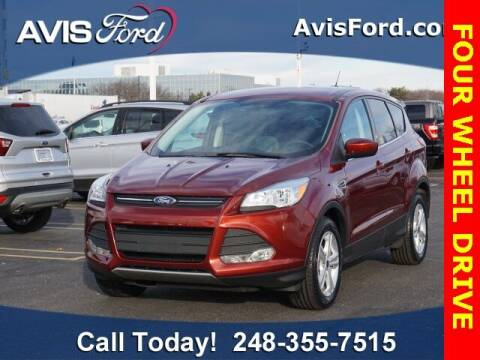 2014 Ford Escape for sale at Work With Me Dave in Southfield MI
