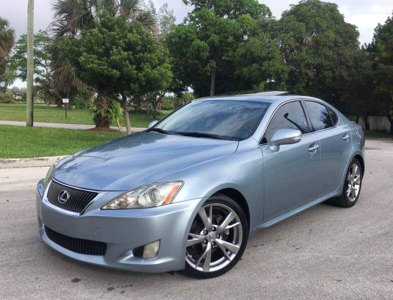2009 Lexus IS 250 for sale at FIRST FLORIDA MOTOR SPORTS in Pompano Beach FL