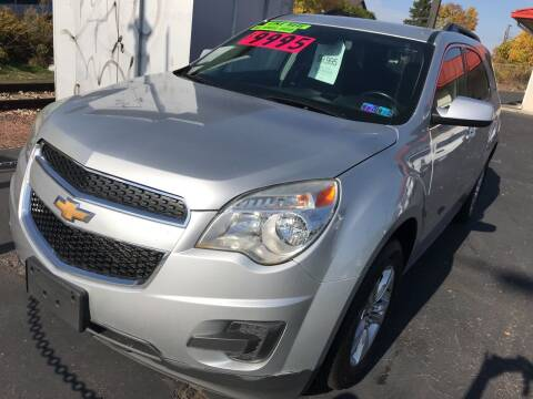 2013 Chevrolet Equinox for sale at Red Top Auto Sales in Scranton PA