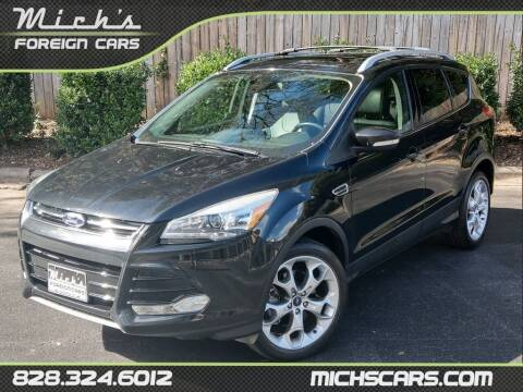 2013 Ford Escape for sale at Mich's Foreign Cars in Hickory NC