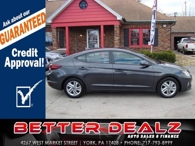 2020 Hyundai Elantra for sale at Better Dealz Auto Sales & Finance in York PA