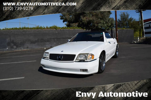 1992 Mercedes-Benz 500-Class for sale at Envy Automotive in Studio City CA