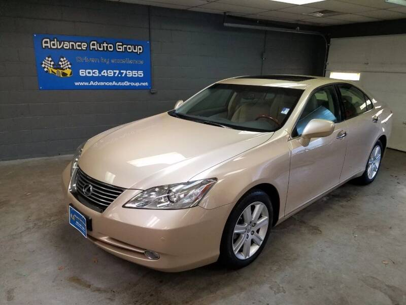 2007 Lexus ES 350 for sale at Advance Auto Group, LLC in Chichester NH