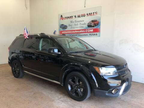 2019 Dodge Journey for sale at Antonio's Auto Sales - Antonio`s  2206 in Pasadena TX