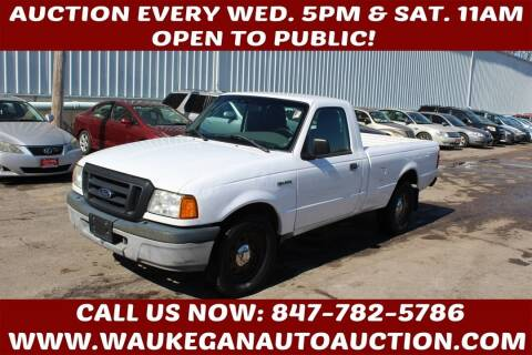 2005 Ford Ranger for sale at Waukegan Auto Auction in Waukegan IL