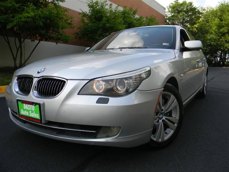 2009 BMW 5 Series for sale at Dasto Auto Sales in Manassas VA