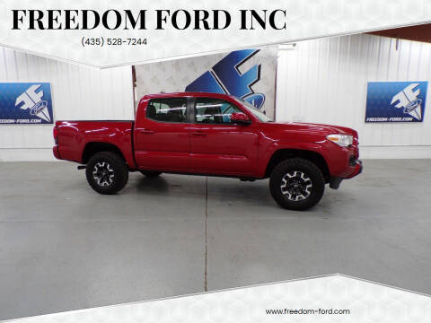 2018 Toyota Tacoma for sale at Freedom Ford Inc in Gunnison UT