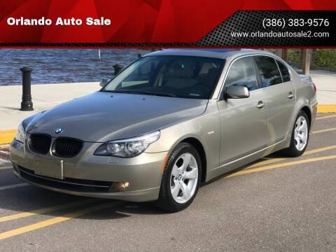 2008 BMW 5 Series for sale at Orlando Auto Sale in Port Orange FL