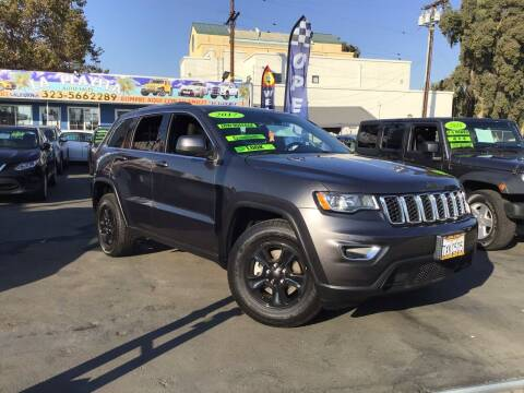 2017 Jeep Grand Cherokee for sale at LA PLAYITA AUTO SALES INC - 3271 E. Firestone Blvd Lot in South Gate CA