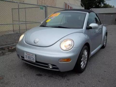 2004 Volkswagen New Beetle Convertible for sale at Top Notch Auto Sales in San Jose CA