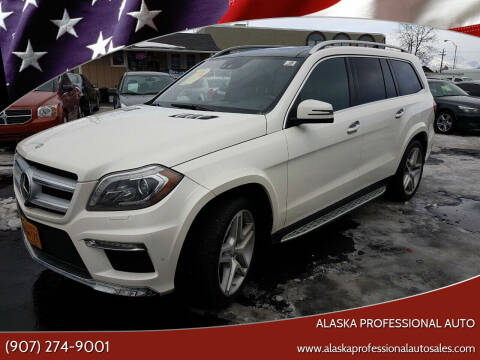 2013 Mercedes-Benz GL-Class for sale at ALASKA PROFESSIONAL AUTO in Anchorage AK