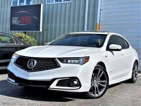 2018 Acura TLX for sale at Haus of Imports in Lemont IL