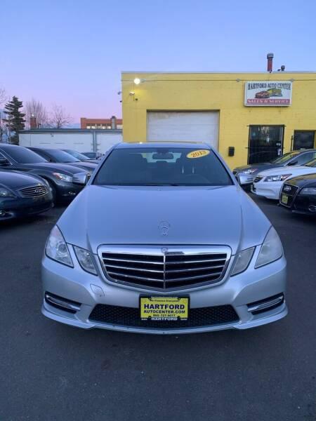 2013 Mercedes-Benz E-Class for sale at Hartford Auto Center in Hartford CT