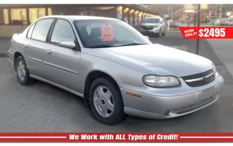 2001 Chevrolet Malibu for sale at Steel River Auto in Bridgeport OH