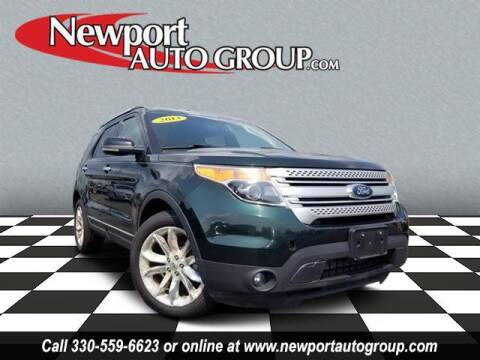 2013 Ford Explorer for sale at Newport Auto Group in Austintown OH