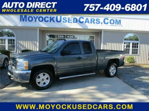 2013 Chevrolet Silverado 1500 for sale at Auto Direct Wholesale Center in Moyock NC