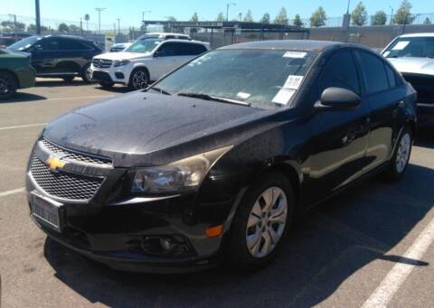 2013 Chevrolet Cruze for sale at SoCal Auto Auction in Ontario CA