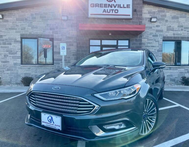 2017 Ford Fusion for sale at GREENVILLE AUTO & RV in Greenville WI