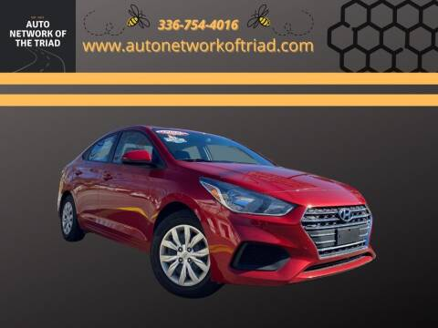2019 Hyundai Accent for sale at Auto Network of the Triad in Walkertown NC