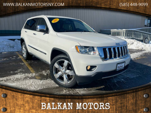 2011 Jeep Grand Cherokee for sale at BALKAN MOTORS in East Rochester NY