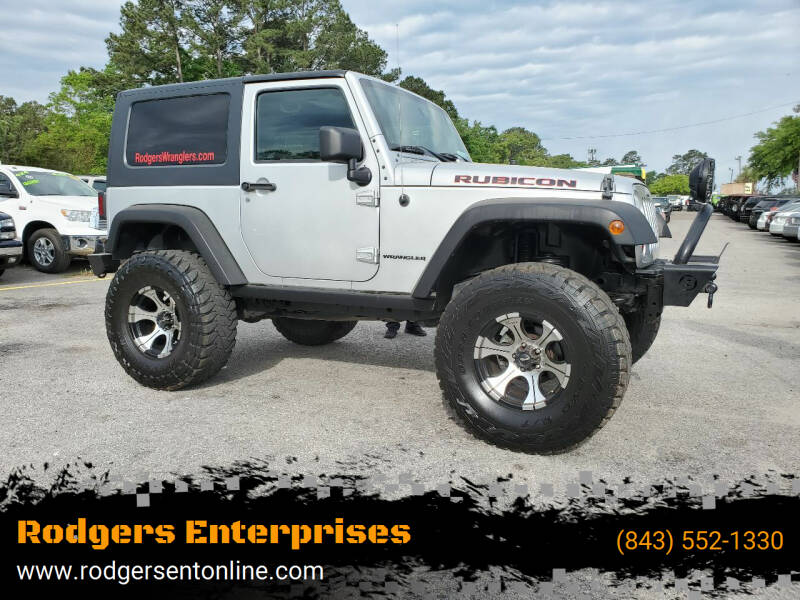 2010 Jeep Wrangler for sale at Rodgers Wranglers in North Charleston SC