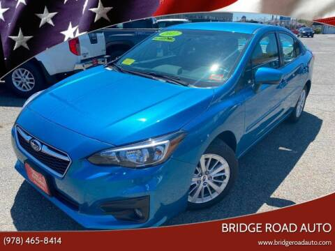 2017 Subaru Impreza for sale at Bridge Road Auto in Salisbury MA