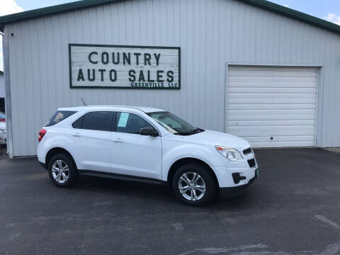 2013 Chevrolet Equinox for sale at COUNTRY AUTO SALES LLC in Greenville OH