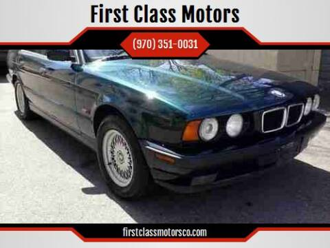 1995 BMW 5 Series for sale at First Class Motors in Greeley CO
