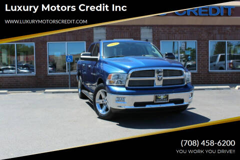 2011 RAM Ram Pickup 1500 for sale at Luxury Motors Credit Inc in Bridgeview IL