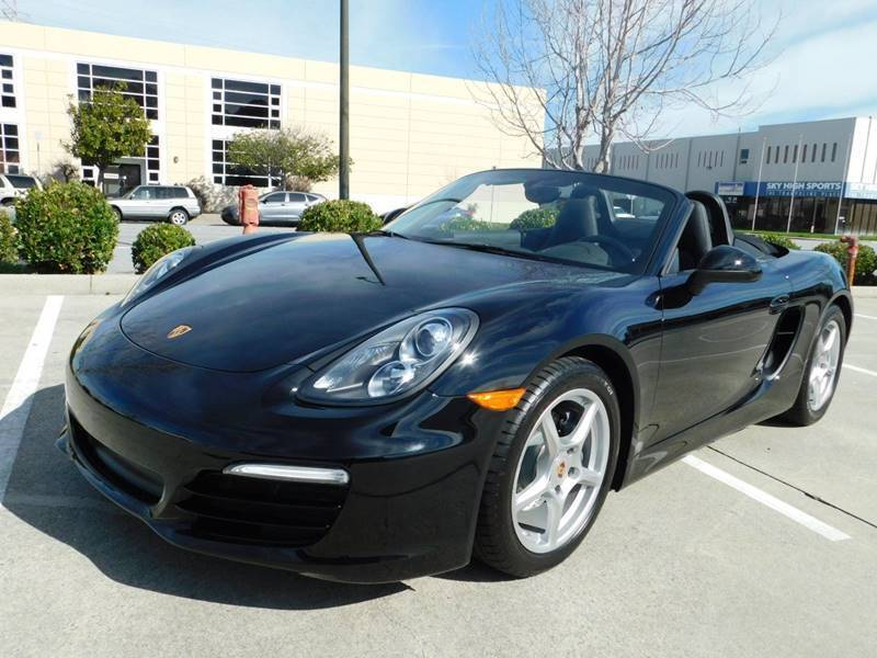2014 Porsche Boxster for sale at Conti Auto Sales Inc in Burlingame CA