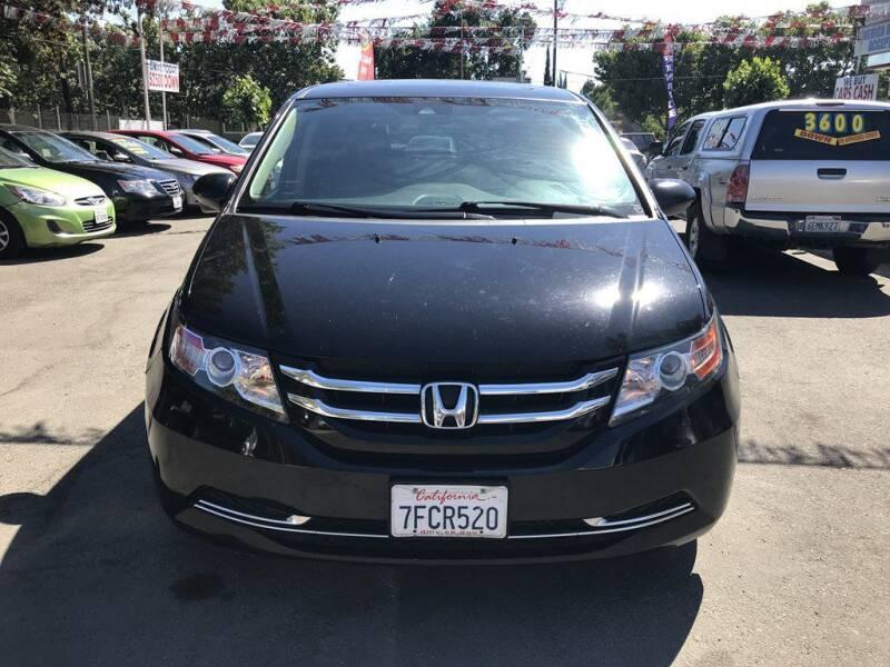 2014 Honda Odyssey for sale at EXPRESS CREDIT MOTORS in San Jose CA