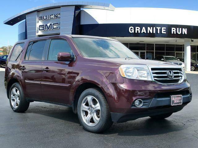 2013 Honda Pilot for sale at GRANITE RUN PRE OWNED CAR AND TRUCK OUTLET in Media PA