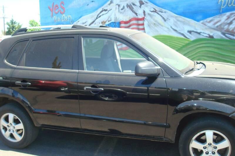 2008 Hyundai Tucson for sale at Tom's Car Store Inc in Sunnyside WA