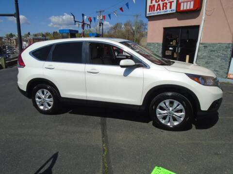 2013 Honda CR-V for sale at Broadway Auto Services in New Britain CT