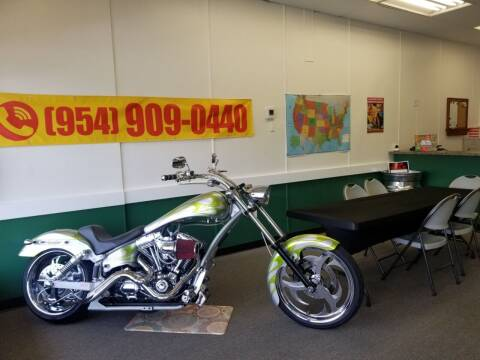 2007 Harley Davidson FXDX  Modified Dyna Chopper for sale at M.D.V. INTERNATIONAL AUTO CORP in Fort Lauderdale FL