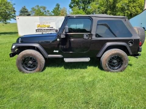 2005 Jeep Wrangler for sale at ROB'S AUTO SALES in Ridgeway IA