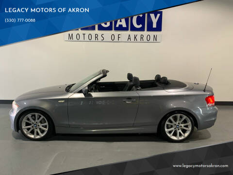2012 BMW 1 Series for sale at LEGACY MOTORS OF AKRON in Akron OH