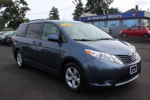 2017 Toyota Sienna for sale at All American Motors in Tacoma WA