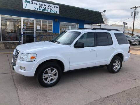 2010 Ford Explorer for sale at Island Auto Sales in Colorado Springs CO